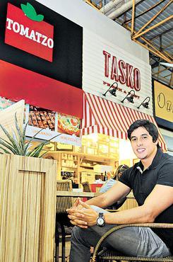 Aos 28 anos, Mateus emprega 28 funcion�rios e criou duas marcas de franquia (Janine Moraes/CB/D.A Press   )
