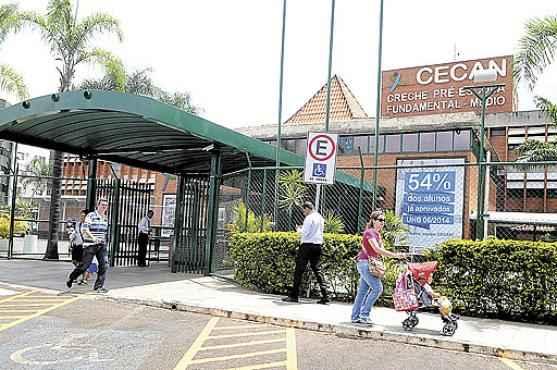 O Candanguinho tem, hoje, alunos desde a creche até o ensino médio: entre os planos da SEB, está o de ter uma educação bilíngue (Antonio Cunha/CB/D.A Press)