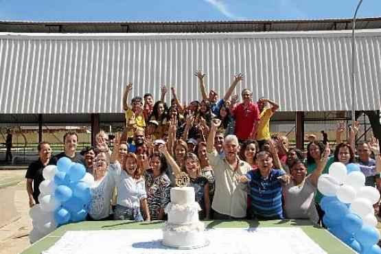 Alunos e professores comemoram os 50 anos do CED 1: a maioria dos estudantes vem de outras RAs (Ana Rayssa/Esp.CB/D.A Press)