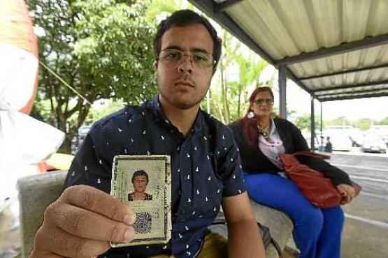 Gustavo Silveira Tolentino, aluno do 3º ano do ensino médio: