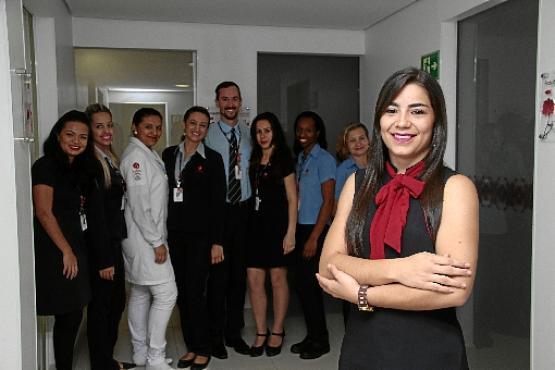 Tchella assumiu uma posi��o de chefia pela primeira vez aos 21 (Ana Rayssa/Esp. CB/D.A Press)