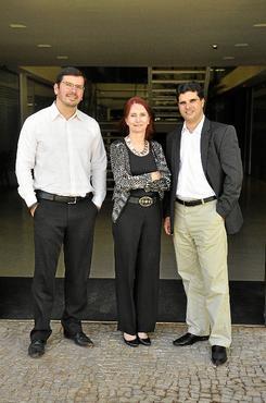 Wendell, Marilyn e Daniel são estimulados a procurar soluções sozinhos (Paula Rafiza/Esp.CB/D.A Press     )
