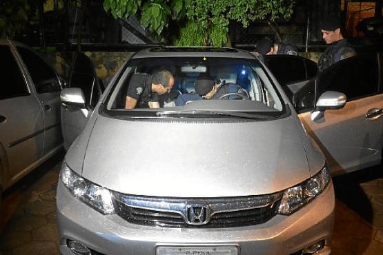 O veículo de Alessandro da Silva Santos, 42 anos, foi apreendido próximo a um motel, em Ceilândia    (André Violatti/Esp. CB/D.A. Press)