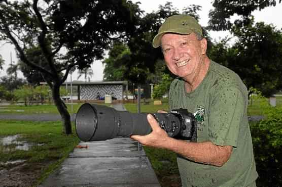Depois da aposentadoria, Tancredo Maia passou a se dedicar a fotografar a rotina dos pássaros (Zuleika de Souza/CB/D.A Press)