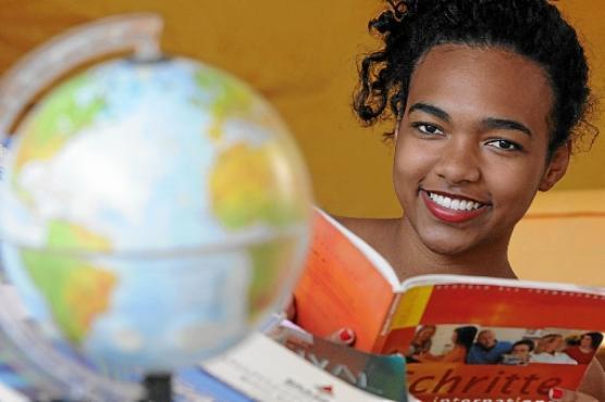 Paloma participou de três programas de intercâmbio (Carlos Vieira/CB/D.A Press)