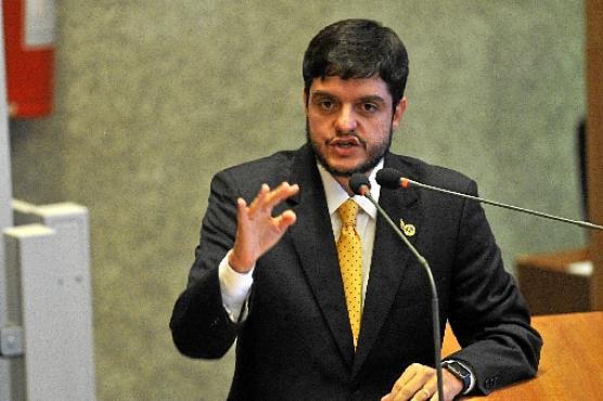 O distrital Rodrigo Delmasso exonerou um assessor após a operação (Minervino Junior/CB/D.A Press - 2/3/17)