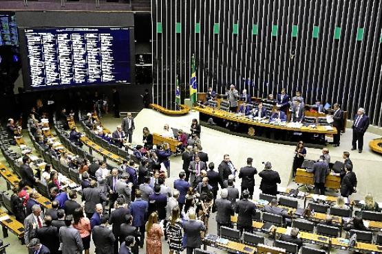 Descontentes com a falta de interlocução com o Planalto, aliados não defendem projetos do governo e abrem espaço para a oposição (Najara Araújo/C?mara dos Deputados )