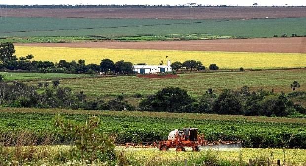 Núcleo Rural em Planaltina: revisão deve orientar política de desenvolvimento, conciliando características (Ed Alves/CB/D.A Press - 22/2/18)