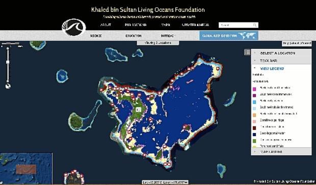 O novo modelo permite a criação de mapas detalhados de partes específicas de um recife
