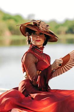O interesse de Christiane na Amazônia surgiu nas filmagens de Amazônia - De Galvez a Chico Mendes (João Miguel Junior/TV Globo - 6/3/09 )