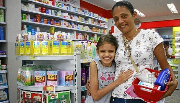Eliana Distretti destaca que os remédios da filha Vitória são com receita, mas os dela, nem tanto (Vinicius Cardoso Vieira/Esp. CB/D.A Pres)