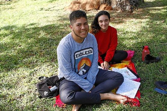 Vinicius Nunes  e Nathalia da Rosa Lima  (Ana Rayssa/CB/D.A Press)