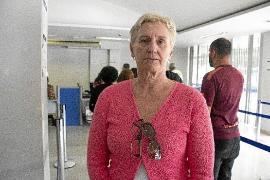 Sandra nem sabe se o pedido de aposentadoria vai mesmo sair, mas já recebe inúmeras ofertas (Vinícius Cardoso Vieira/CB/D.A Press)