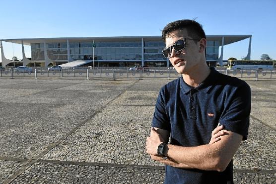 Paulo Henrique veio para um congresso e aproveitou a folga para turistar (Minervino Júnior/CB/DA.Press)