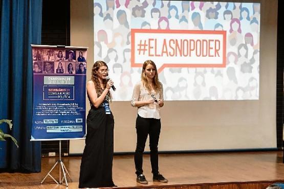 ONG criada por mulheres incentiva e apoia campanhas femininas (Isa Lima / Elas no Poder)