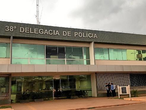 Seis familiares de Noélia Rodrigues prestaram depoimento ontem na 38ª DP (Vicente Pires): auxílio na investigação (Sarah Peres/CB/D.A Press )
