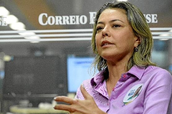Leila Barros (PSB)  (Carlos Vieira/CB/D.A Press -  24/9/18)