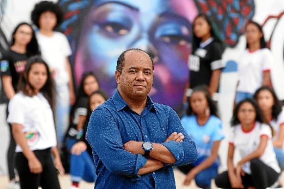 Diretor Wagner Lemos leva o direitos das mulheres para a sala de aula  (Carlos Vieira/CB/D.A Press)