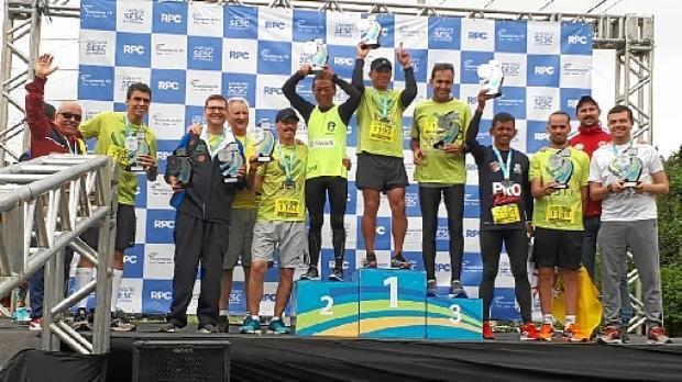 Vencedores: Jogos Brasileiros para Transplantados, em Curitiba (Arquivo Pessoal)