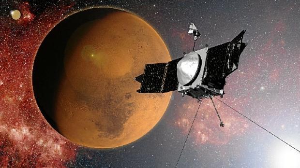 Dados da sonda Maven ajudam a entender como Marte se tornou um local inóspito (NASA/Goddard Space Flight Center)