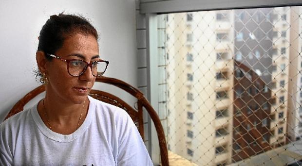 Márcia Giraldi perdeu o irmão em um acidente em 2011. Ela acredita que faltou assistência do Estado (Ana Rayssa/CB/D.A. Press)