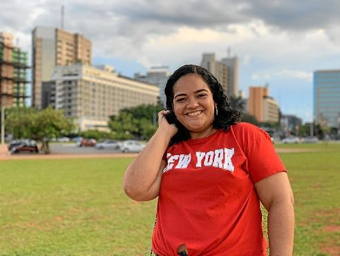 Samia Pinheiro, moradora de Santa Maria: