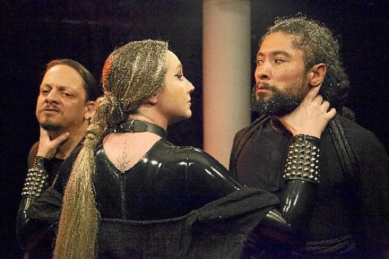 Medeia %u2014 A neta do Sol: peça do diretor James Feinsterseifer que pode ser assistida em casa (Adla Marques/Divulgação)
