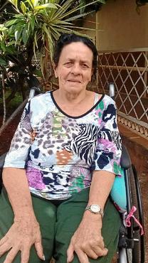 Angelina Pereira conseguiu conversar com a irmã, com quem não falava havia 40 anos (Lar dos Velhinhos Bezerra de Menezes/Divulgação )