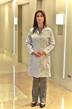 A médica infectologista Marli, do Hospital Santa Lúcia (Grupo Santa Lúcia/Divulgação)