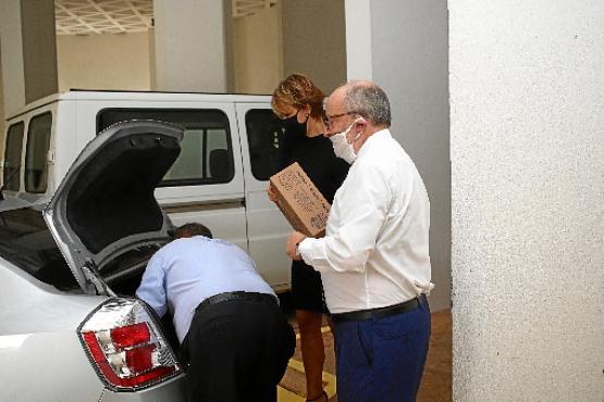 Fernando García Casas, embaixador da Espanha, teve a ideia de ajudar depois de ler  uma reportagem  (Ana Rayssa/CB/D.A Press)