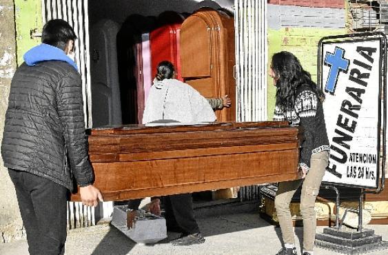 El Alto, BOLÍVIA (Aizar Raldes/AFP)