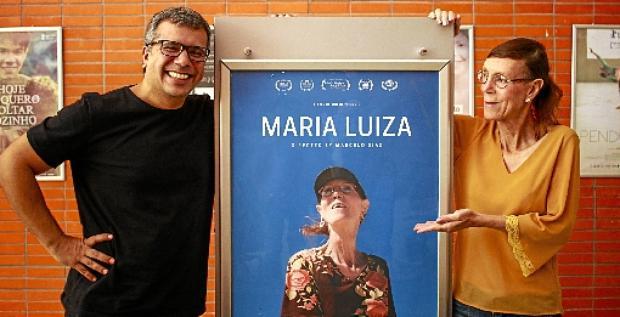 A história de Maria Luiza, que por 20 anos lutou por cidadania, virou filme em 2019. Longa, dirigido por Marcelo Diaz no Festival de Brasília do Cinema Brasileiro (Vinícius Cardoso/Esp.CB/D.A Press)