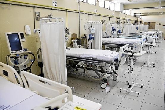 Leitos de unidade de terapia intensiva (UTI) na rede pública: setor vital para a luta contra o coronavírus (Arquivo Pessoal)