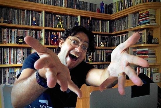 Fernando Caruso (foto) divide com Paulo Vieira o comando da festinha virtual em Cada um  no seu quadrado (Globo / Victor Pollak)