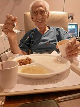 (Fotos: Arquivo Pessoal Laudenor:  %u201CMeu sonho era poder voltar a comer%u201D )