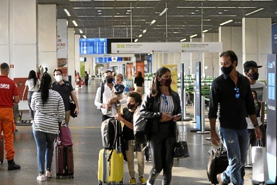 Fluxo de passageiros em Brasília atingiu a menor taxa em 25 anos (Minervino Júnior/CB/D.A Press)