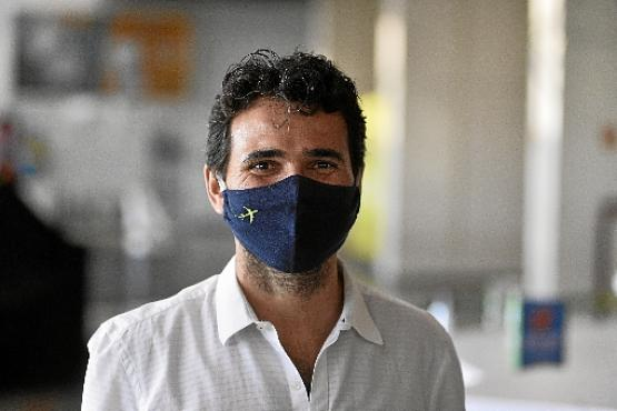 Para Rogério Coimbra, da Inframérica, é preciso garantir a segurança  (Minervino Júnior/CB/D.A Press)