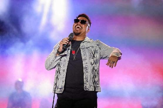 %u201CÉ um momento histórico%u201D, define Bruno Cardoso, vocalista do Sorriso Maroto (BS Fotografia/Divulgação)
