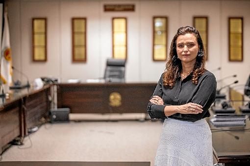 » Ana Dubeux  A procuradora-geral de Justiça do DF detalhou o trabalho do Ministério Público em meio às medidas de restrições. Ela cobrou  celeridade na vacinação.  (Ed Ferreira/MPDFT)