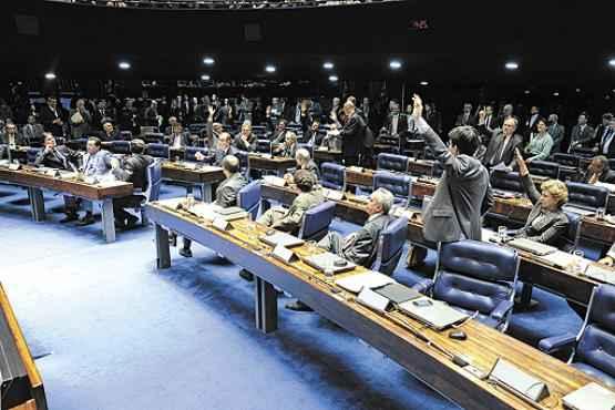Senadores aprovam o PNE, em 17 de dezembro: projeto amplia a oferta de ensino integral  (Moreira Mariz/Agência Senado)