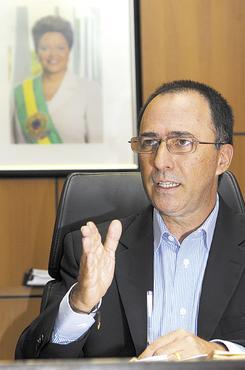 Marcelo Aguiar: monitores ficarão ligados à Secretaria de Segurança (Janine Moraes/CB/D.A Press - 8/3/13)