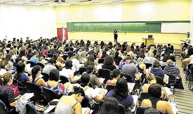 Cursinhos lotados: candidatos devem ficar atentos para não perder prazos  (Ed Alves/CB/D.A Press - 28/9/13 )