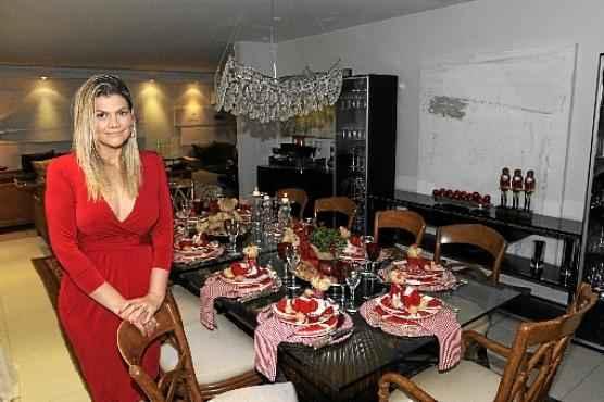 Fabiani Christine aposta em criar espaços totalmente personalizados. Este ano, ela recebeu 38 pedidos com preços que variam de R$ 150 a R$ 18 mil (Carlos Moura/CB/D.A Press   )